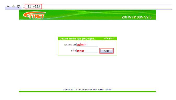 ZTE ZXHN H108N Modem Kurulumu Resimli Anlatım, zte zxhn108n internet ayarı, zte zxhn108n kablosuz ağ ayarı, zte zxhn108n kablosuz modem kurulumu, zte zxhn108n modem kurulumu
