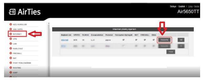 Airties RT 206 Modem Kurulumu Resimli Anlatım, Airties RT-206 Modem Kurulumu, Airties RT 206 Modem Ayarı, Airties RT 206 Kablosuz ayarı, Airties RT 206 Wireless,Airties RT 206 Kablosuz modem ayarları,Airties RT 206 kopma sorunu